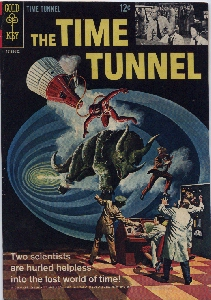 THE TIME TUNNEL, Issue#1 Cover